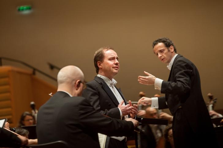 With the Orchestre EDF, the soprano Cécile Perrin and the tenor Jean-Noël Briend, salle Pleyel (2014)