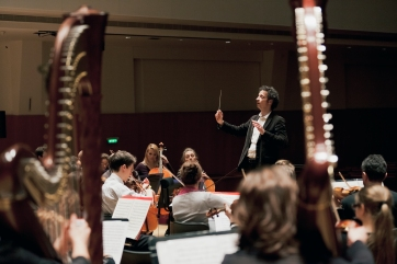 With the Orchestre EDF at the Salle Pleyel (2012)